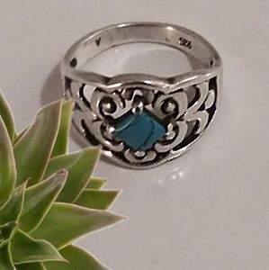 Jewelry - Native American Style Turquoise Ring Size 8